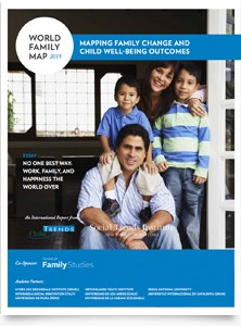 The World Family Map 2015: Mapping Family Change and Child Well-being Outcomes